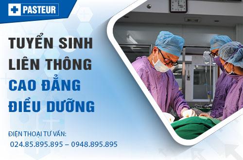 Liên thông cao đẳng Điều dưỡng chuyên nghiệp tại Hà Nội