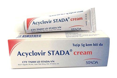 Công dụng của thuốcAcyclovir