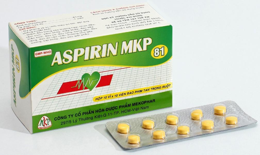 Thuốc giảm đau Aspirin