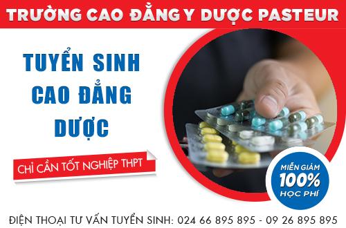 Địa chỉ đào tạo Cao đẳng Dược uy tín tại Hà Nội năm 2017