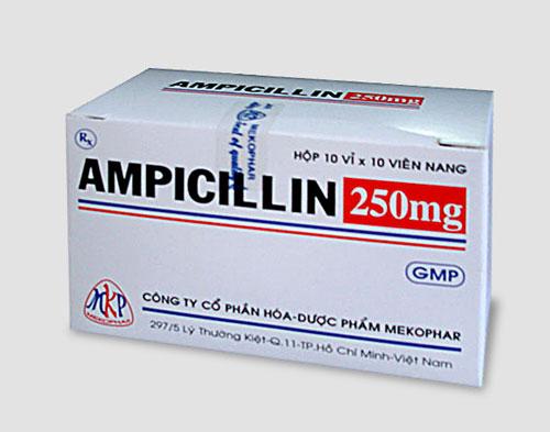 Các dạng và hàm lượng của thuốc Ampicillin
