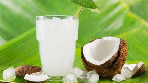 Chống say nắng nhờ nước dừa