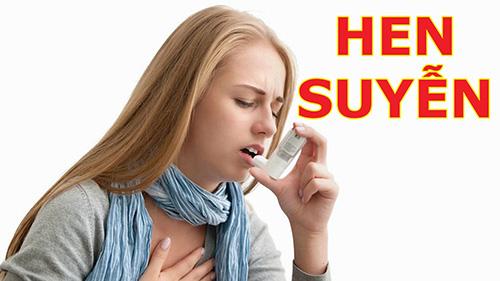 Bệnh học nội khoa hen suyễn