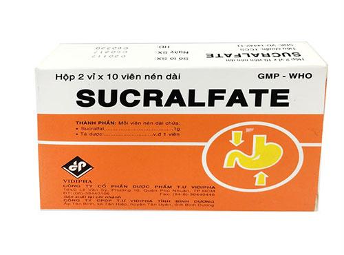 Hướng dẫn cách dùng thuốc Sucralfat hiệu quả
