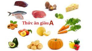 Cần đảm bảo Vitamin A thật tốt