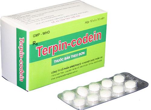 Thuốc kháng sinh Codein