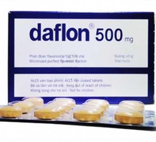 Tìm hiểu tác dụng của thuốc Daflon