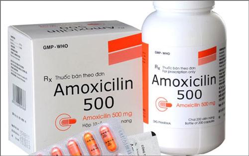 Tìm hiểu về thuốc amoxicillin