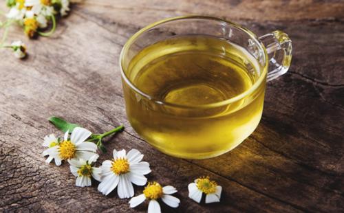 Trà hoa cúc giúp giải độc gan