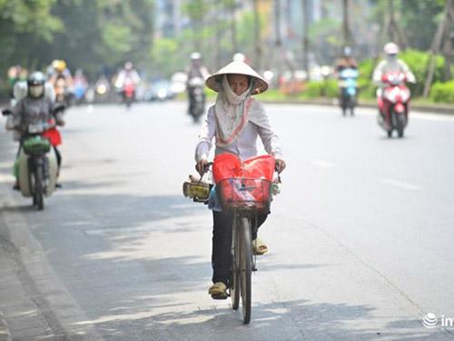 Trời nắng nóng có nguy cơ bị sốc nhiệt và đột tử